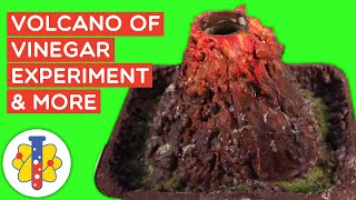 How to make a Volcano DIY Science Experiment | Amazing Experiments You Can Do At Home | Lab 360