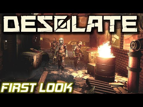 First Look Post Apocalyptic Survival | Desolate Gameplay | EP1