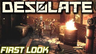 First Look Post Apocalyptic Survival   Desolate Gameplay   EP1
