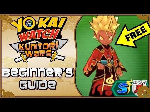 Yo-kai Watch Kunitori Wars Beginner's Guide - How To Download, FREE S-Ranks, & MORE!