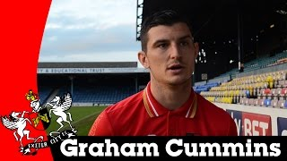 Graham Cummins after 1-1 draw at Southend | Exeter City Football Club