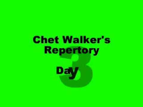Workshop  February 2004 with Chet Walker