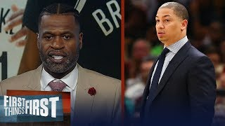 Ty Lue is best fit to coach KD, Kyrie & Brooklyn Nets — Stephen Jackson | NBA | FIRST THINGS FIRST