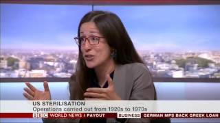 Dr Silvia Camporesi interviewed by BBC World News on Eugenics and Sterilisation