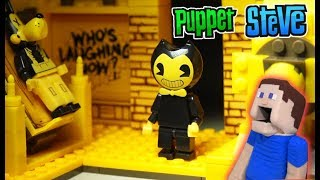 Bendy and the Ink Machine Room Playset FULL UNBOXING Construction Set BATIM Mcfarlane Toys