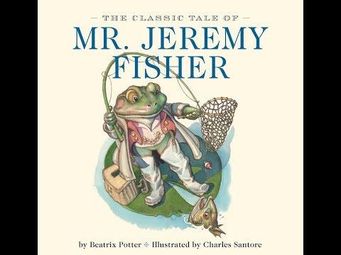 The Tale Of Mr Jeremy Fisher By Beatrix Potter
