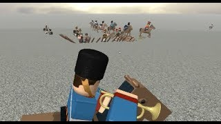 cavalry vs infantry | ROBLOX Blood & Iron