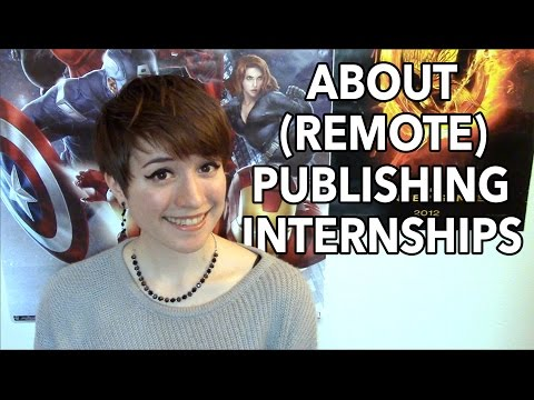 About (Remote) Publishing Internships