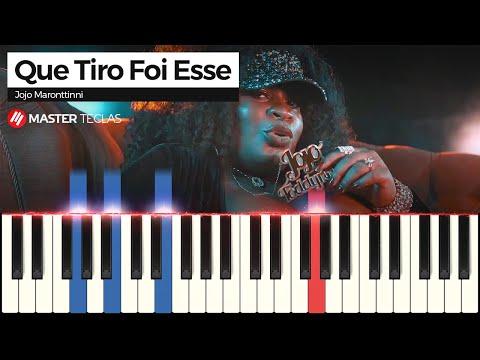 💎💎💎Como tocar Que Tiro Foi Esse (Piano tutorial)💎💎💎