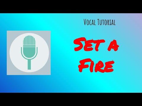 Set a fire - Voices - Soprano, Alto, Tenor - SAT