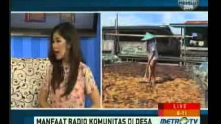 Manfaat Radio Komunitas di Desa