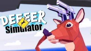 Chỉ 1 con HƯƠU hủy diệt cả một thành phố! \\ DEER Simulator