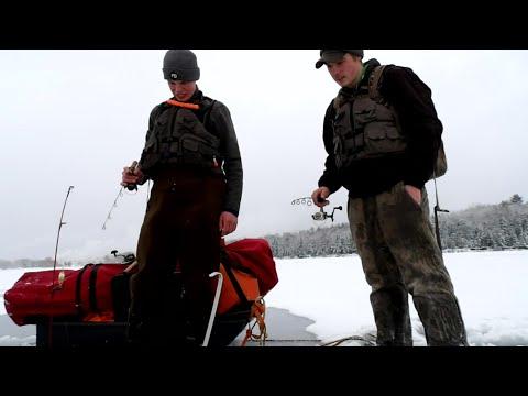 Lake Superior First Ice (Ice Fishing 2020)