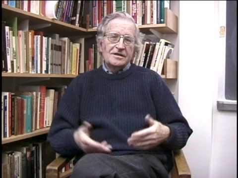 Noam Chomsky: Manufacturing Consent  post production interview 1 of 2