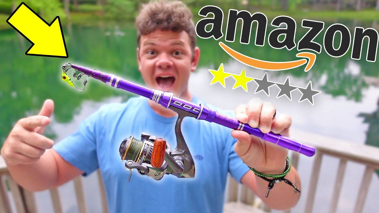 Worst Rated AMAZON Fishing Rod & Reel Combo! (How BAD?)