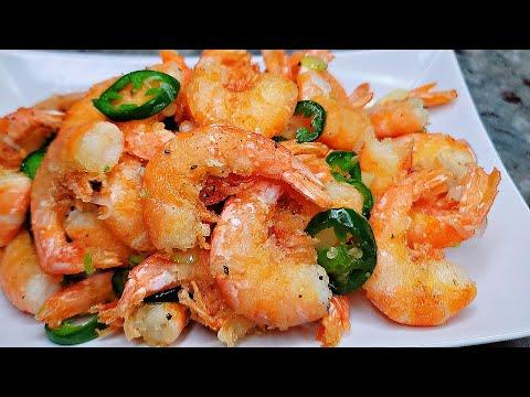 CRISPY Salt And Pepper Shrimp   Simply Mamá Cooks
