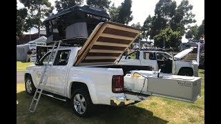 Amarok Camping Systems - Winner - Best Touring Vehicles & 4x4 Accessories Melbourne SuperShow 2018
