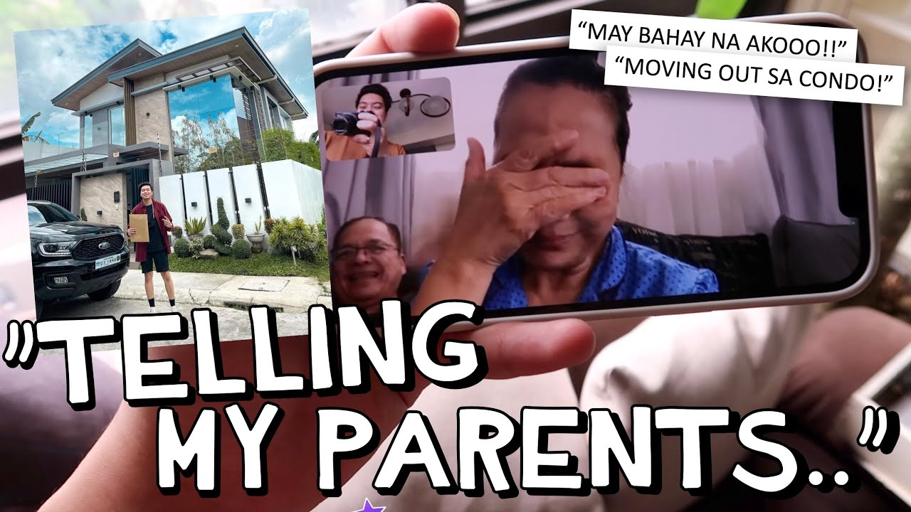 """""""TELLING MY PARENTS I BOUGHT A HOUSE.."""" 🙈🏠 (MOVING OUT OF THE CONDO) 😢 