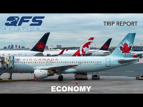 TRIP REPORT | Air Canada - A320 - Toronto (YYZ) To New York (LGA) | Economy Preferred
