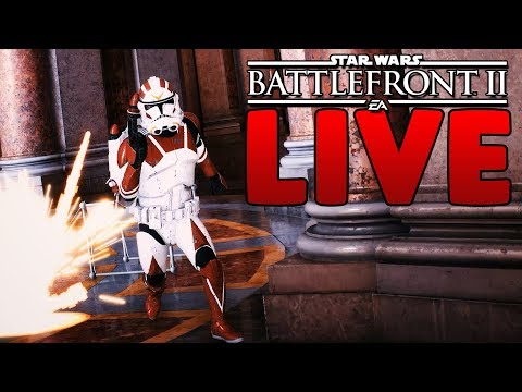 STAR WARS BATTLEFRONT II LIVE