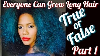 True or False: Everyone Can Grow Long Hair - Becoming Beauty Salon