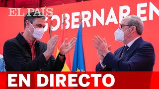 DIRECTO #4M | Acto de campaña de ÁNGEL GABILONDO con PEDRO SÁNCHEZ