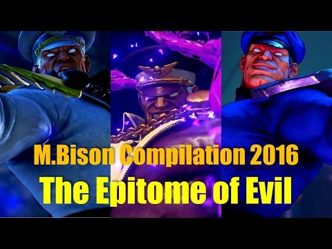 SF5 M.Bison Compilation 2016