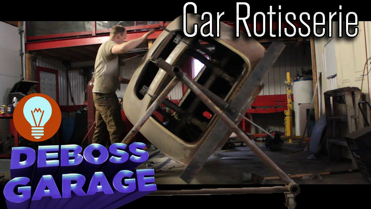 how to build a car body rotisserie