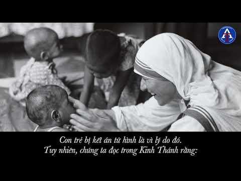 [BÀI HỌC CUỘC SỐNG] - Chuyện Kể Của Mẹ Teresa Xứ Calcutta (Kỳ 8 - Thương Yêu Con Cái, Đừng Phá Thai)
