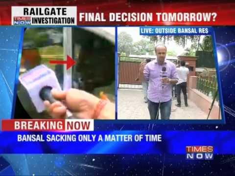 Pawan Kumar Bansal's sacking certain