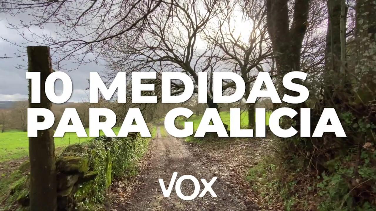 10 medidas para Galicia #GaliciaEsVerde