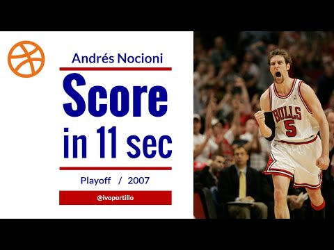 Nocioni Scores 7 Points In 11 Seconds