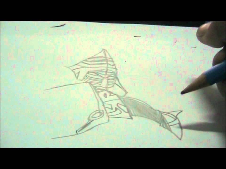 Speed Drawing Of Noisy Boy