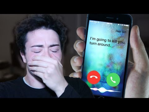 Thumbnail: (PROOF THAT SIRI IS REAL) DO NOT FACETIME SIRI AT 3:00 AM *THIS IS WHY* 3 AM SIRI CHALLENGE!!