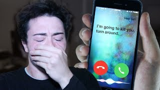 One of Jester's most viewed videos: (PROOF THAT SIRI IS REAL) DO NOT FACETIME SIRI AT 3:00 AM *THIS IS WHY* 3 AM SIRI CHALLENGE!!