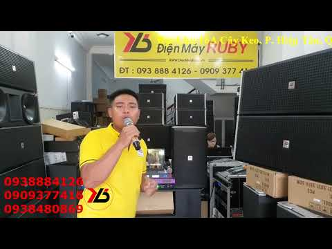 Dàn Karaoke Gia Đình 21.5 Triệu Quá VIP Quá Hay | Điện Máy Ruby