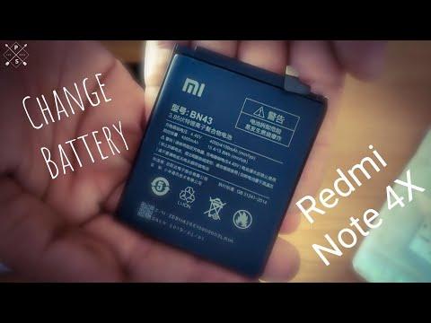 Change Battery On Xiaomi Redmi Note 4X (Αλλαγή μπαταρίας σε Redmi Note 4X )