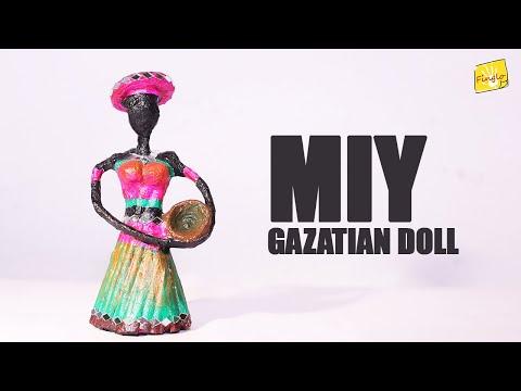 DIY Gazatian African Doll