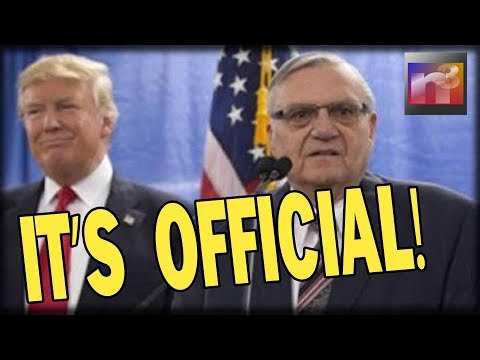IT'S OFFICIAL! Joe Arpaio STRIKES FEAR in Liberals EVERYWHERE With what He Just Declared