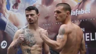 AMERICAN DREAM! - JACOB WOOLEY v JORDAN ELLISON - OFFICIAL WEIGH IN VIDEO FROM HULL