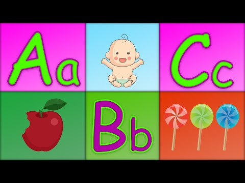 ABC Phonics Song  ABC for Children  ABC Alphabet Phonics Nursery Rhyme