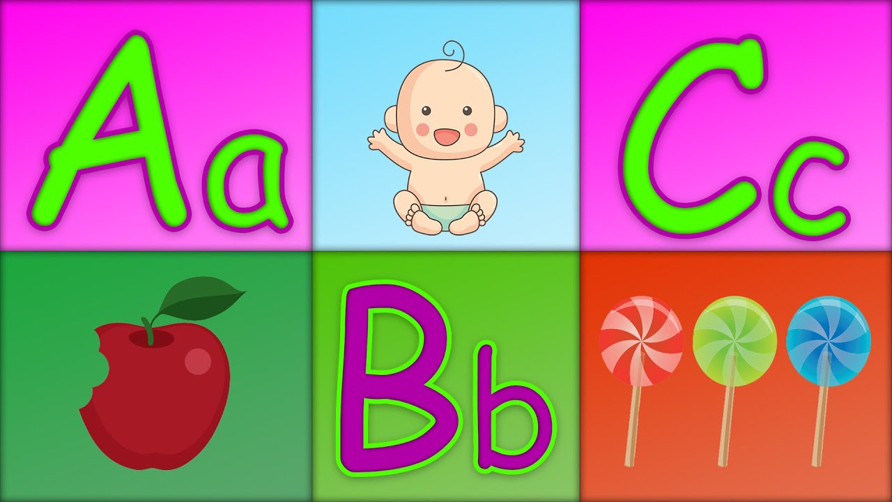 letter a phonics song abc phonics song abc for children abc alphabet phonics 19225 | maxresdefault