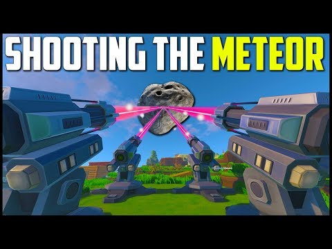 SHOOTING DOWN THE METEOR! - Eco World Survival #12 (Final Episode)