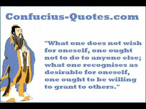 What is the golden rule of confucius