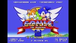 Sonic 2 Armageddon Game (Genesis) - Longplay