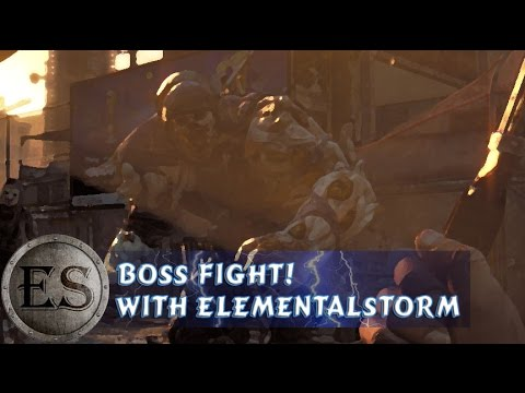 Dying Light -  Boss Fight - One Big Zombie (Gameplay/Twitch/PS4)