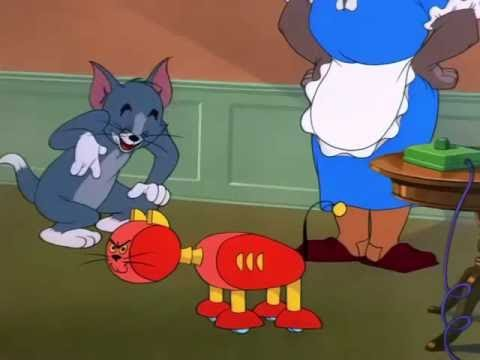 Tom And Jerry English Episodes - Push-Button Kitty - Cartoons For Kids