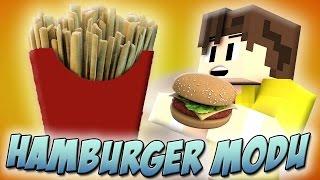 HAMBURGER YAPIYORUZ! - Minecraft Hamburger Modu (Patates Kızartması) - Minecraft 1.8.9 mod Tanıtımı