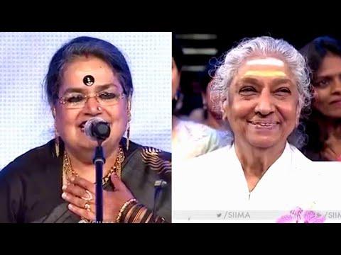 Usha Uthup | Tribute To S Janaki | SIIMA 2016
