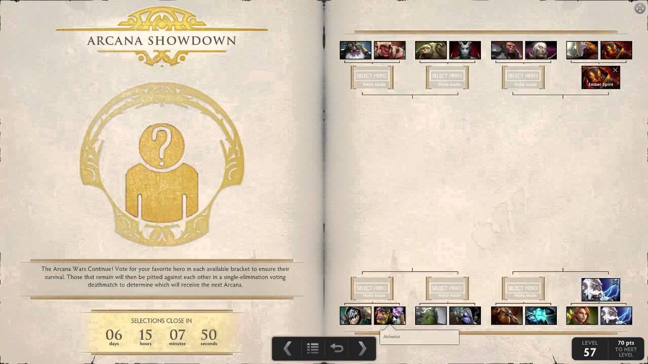 TI5 Arcana Showdown Answer Key - YouTube